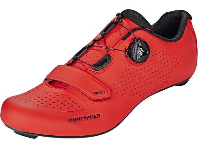 Bontrager Circuit Road Shoes Men Viper Red